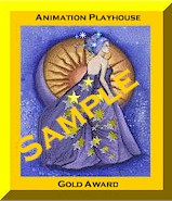 gold award plaque animated jpg