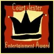 court jester entertainment award plaque animated jpg